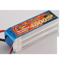 Li-Po 5S 18.5V 4800mAh 36C with no plug