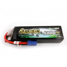 Li-Po Car 4S 14.8V 5000mAh 50C with EC5