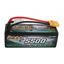Li-Po Car Hard Case 4S 14.8V 5500mAh 50C with XT90