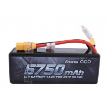 Li-Po Car Hard Case 4S 14.8V 6750mAh 70C with XT90