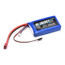 Hi-Energy 2S 3450mAh 10C Li-Fe Rx Battery