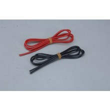 16AWG Sil Wire 1M Red & 1M Black