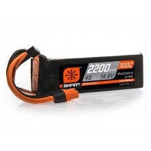 2200mAh 4S 14.8V 100C Smart LiPo Battery; IC3