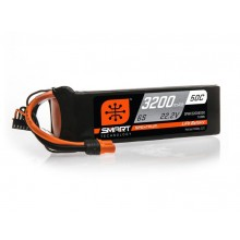 3200mAh 6S 22.2V 50C Smart LiPo Battery; IC3