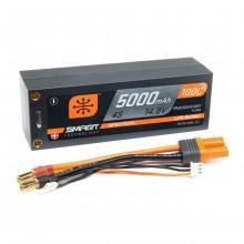 5000mAh 4S 14.8V 100C Smart LiPo Short; 5mm Tubes