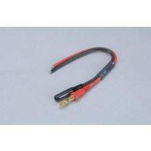 Charge Lead - Plain 150mm 4mm Gold