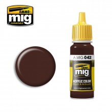 Ammo Mig Jimenez Acrylic 17ml Paint OLD RUST