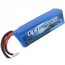 OPTIPOWER ULTRA 50C  3s LITHIUM PACK 2150mAh