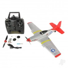 P-51 400 RTF 4-Channel with Flight Stabilisation