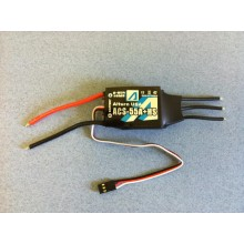 Brushless Motor Controller 55A w/ Heat Sink