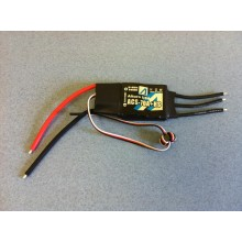 Brushless Motor Controller 70A w/ Heat Sink