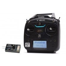 Futaba T6K V2 - 8 Channel 2.4GHz T-FHSS (Dry) & R3006SB Combo (Mode 2) (Second Hand)