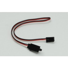 Futaba Extension Lead with Clip (Standard) 300mm