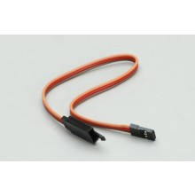 JR/Spektrum Extension Lead with Clip (Heavy Duty) 200mm