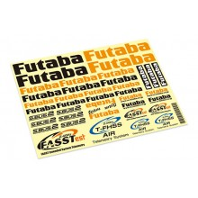 Futabe Air Decal Sheet EBB1180
