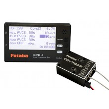 Futaba CGY760R - Gyro Receiver (FASSTest/T-FHSS Air) & Governor with GPB-1 Programmer