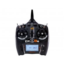 Spektrum DX8e 8 Channel Transmitter Only NEW - Outer box a little tired and has a copied manual