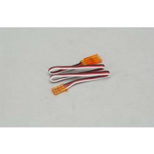 Futaba Extension Lead 300mm Orange
