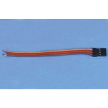 Servo Lead 300mm(H) Gold Pins Pkd