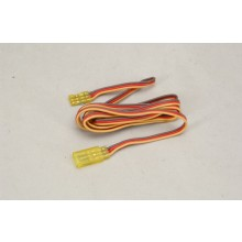JR Extension Lead 1000mm Yellow
