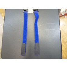 20 x 300mm (Velcro) Hook & Loop Battery Strap (Dark Blue) 2pcs