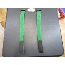20 x 300mm (Velcro) Hook & Loop Battery Strap (Dark Green) 2pcs