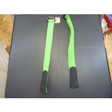 20 x 300mm (Velcro) Hook & Loop Battery Strap (Light Green) 2pcs