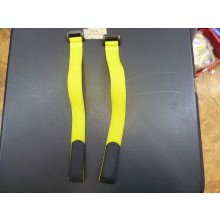 20 x 300mm (Velcro) Hook & Loop Battery Strap (Dark Yellow) 2pcs