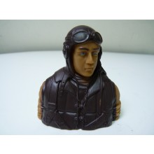 1/5 WWII Japanese prime paint pilots Painted Eyes with base coat need finishing