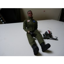 1/6 fullbody Jet pilots with helmet Fully Painted