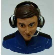 Cajun RC 1/4 Scale Sports Pilot Blue