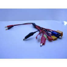12 Into 1 Charging cable with 4MM Banana Plugs