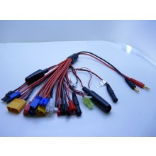 20 Into 1 Charging cable with 4MM Banana Plugs