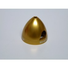 29mm Aluminium Anodised Electric Spinner - Gold