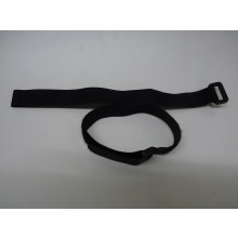 Two Velcro 300mm long 20 mm wide Battery Straps Black