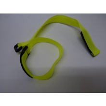 Two Velcro 300mm long 20 mm wide Battery Straps Flour. Yellow