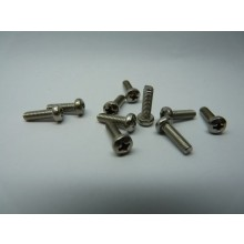 Stainless steel Cross Phillips Pan Head Bolt A2 304 M3 x 10mm long