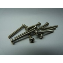 Stainless steel Cross Phillips Pan Head Bolt A2 304 M3 x 25mm long