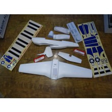 Ultrafly P-51 parts pack