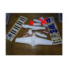 Ultrafly P-51 parts pack (Minus Vac-Formed Parts)