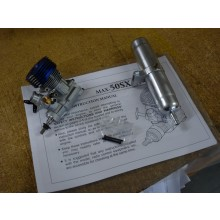 OS MAX 50SX-H Ring including pipe - New Unboxed