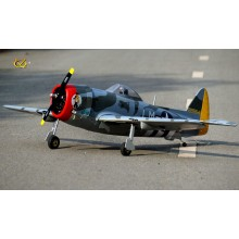 VQ P-47D Thunderbolt  (46-55 size EP-GP with Battery hatch) Camo Version