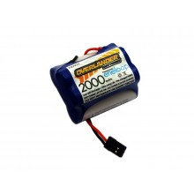 Overlander Eneloop 6v 2000mAh Hump Receiver Battery