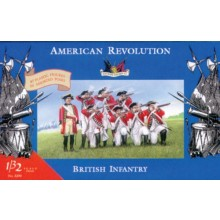 British Infantry - American Revolution 1:32