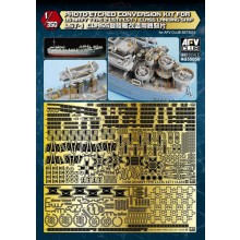 Photo-etched Conversion Kit for US Navy Type 2 LST-1 Class L 1:350