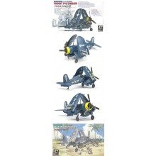 Vought F4U Corsair Folding Wing Position (x2) 1:144
