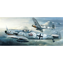 Academy PKAY12467 1670 1:72 Scale Me Bf 109G