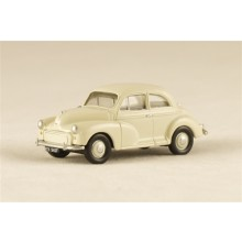 Morris Minor 2-door Saloon WHITE 1:76