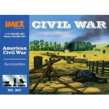 Civil War Accessories 1:72