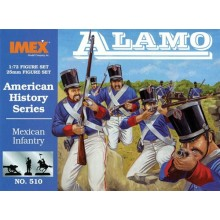 Mexican Infantry at Alamo 1:72